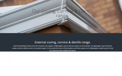 dublin webdesign example - Exterior Mouldings