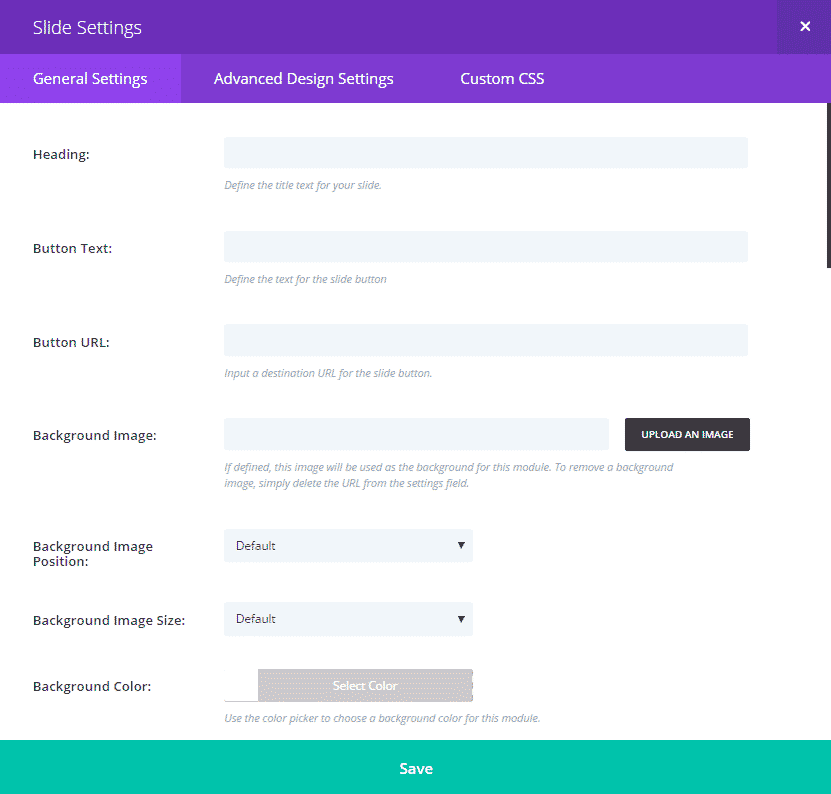 general-slider-options