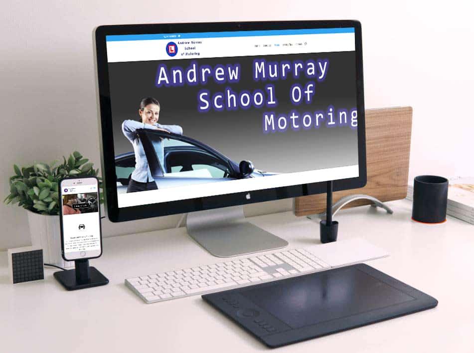 Web design for driving instructors