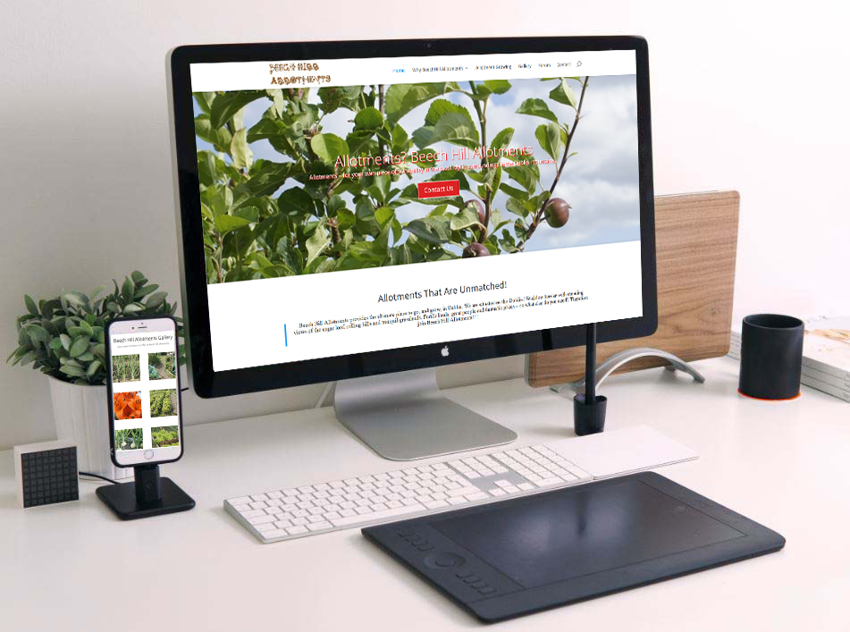 web design for allotments