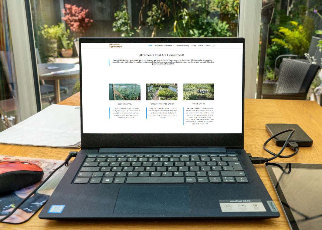 web design for allotments