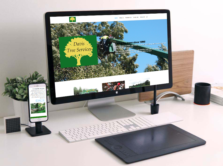web design for tree surgeons