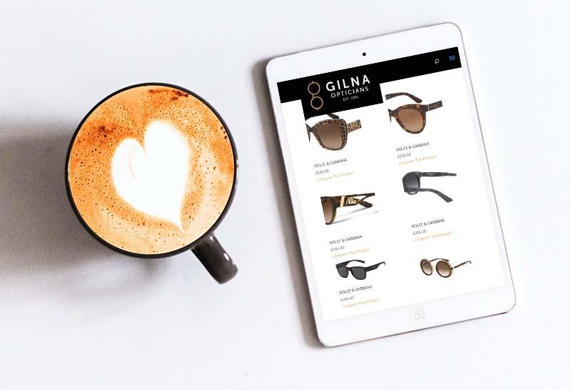 optician web design