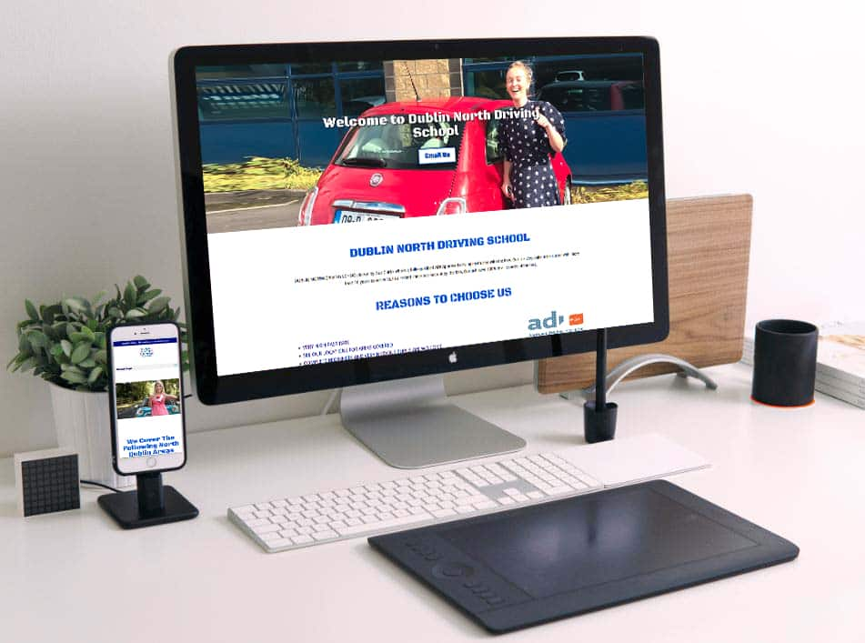 web design for driving instructors by Arrow Design
