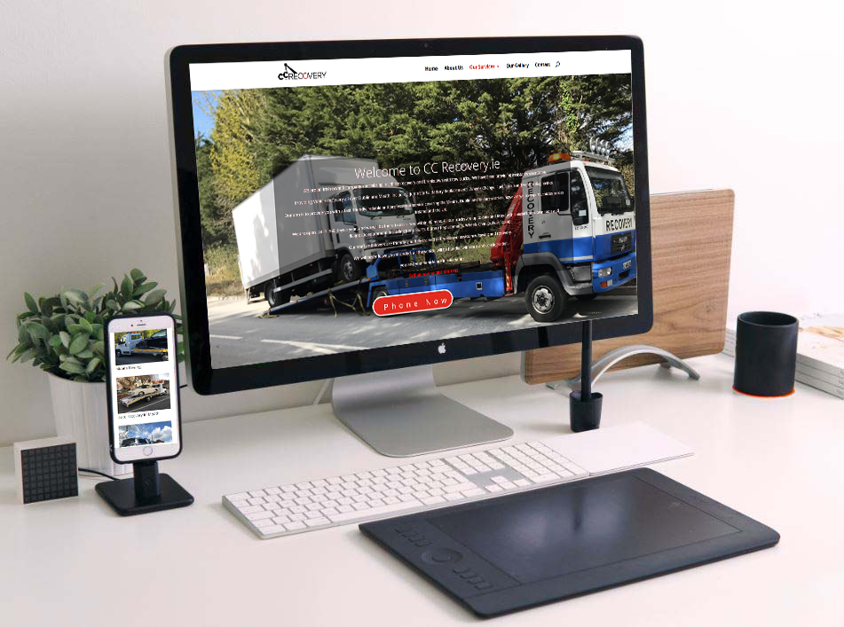 web design for recovery companies
