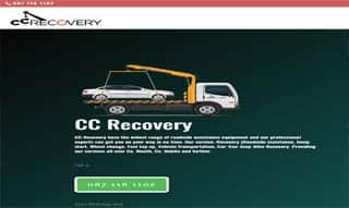 web design for Recovery company by Arrow Design