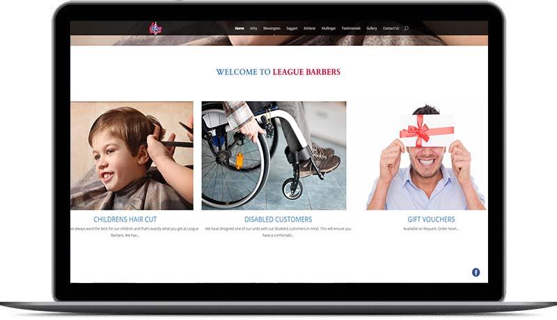website design for barbers