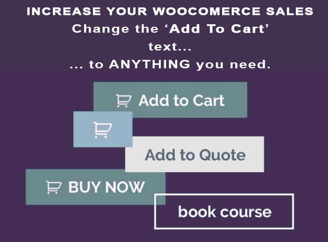 Change Add To Cart Text