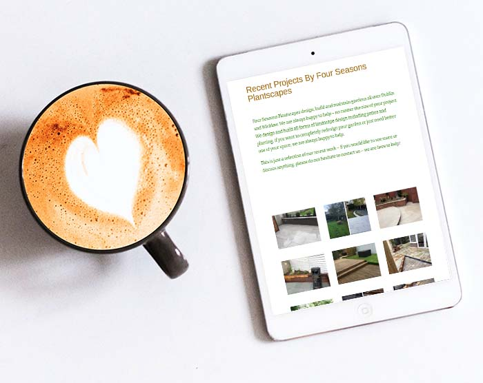 Website design for landscaping companies