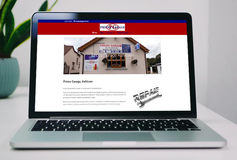 website design for car service