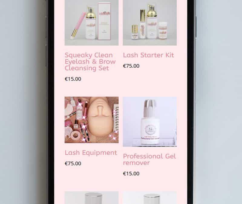 website design for beauty salons