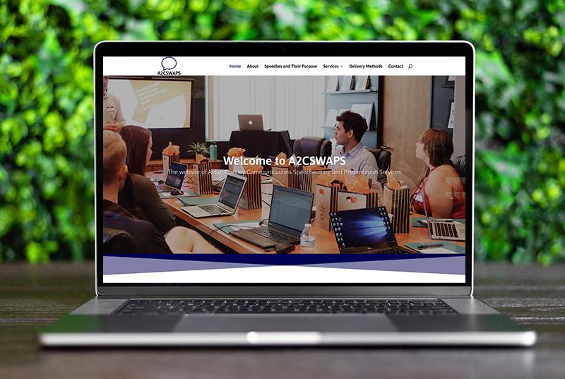 website design for presentation services