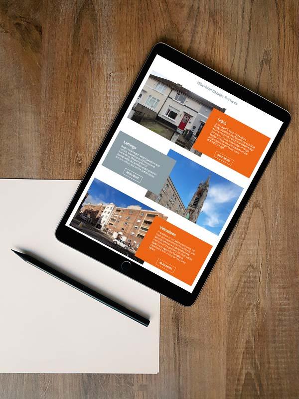 website design for property services