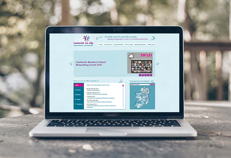 website design for child and youth councils
