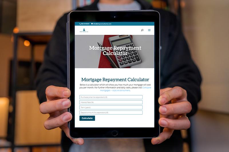 website design for financial services