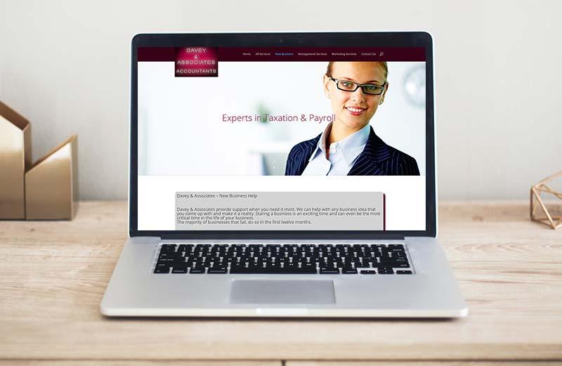 website design for dublin accountants